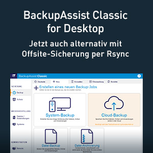 BackupAssist for Desktop