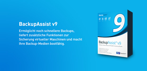 NEU: BackupAssist v9